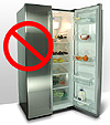 No fridge